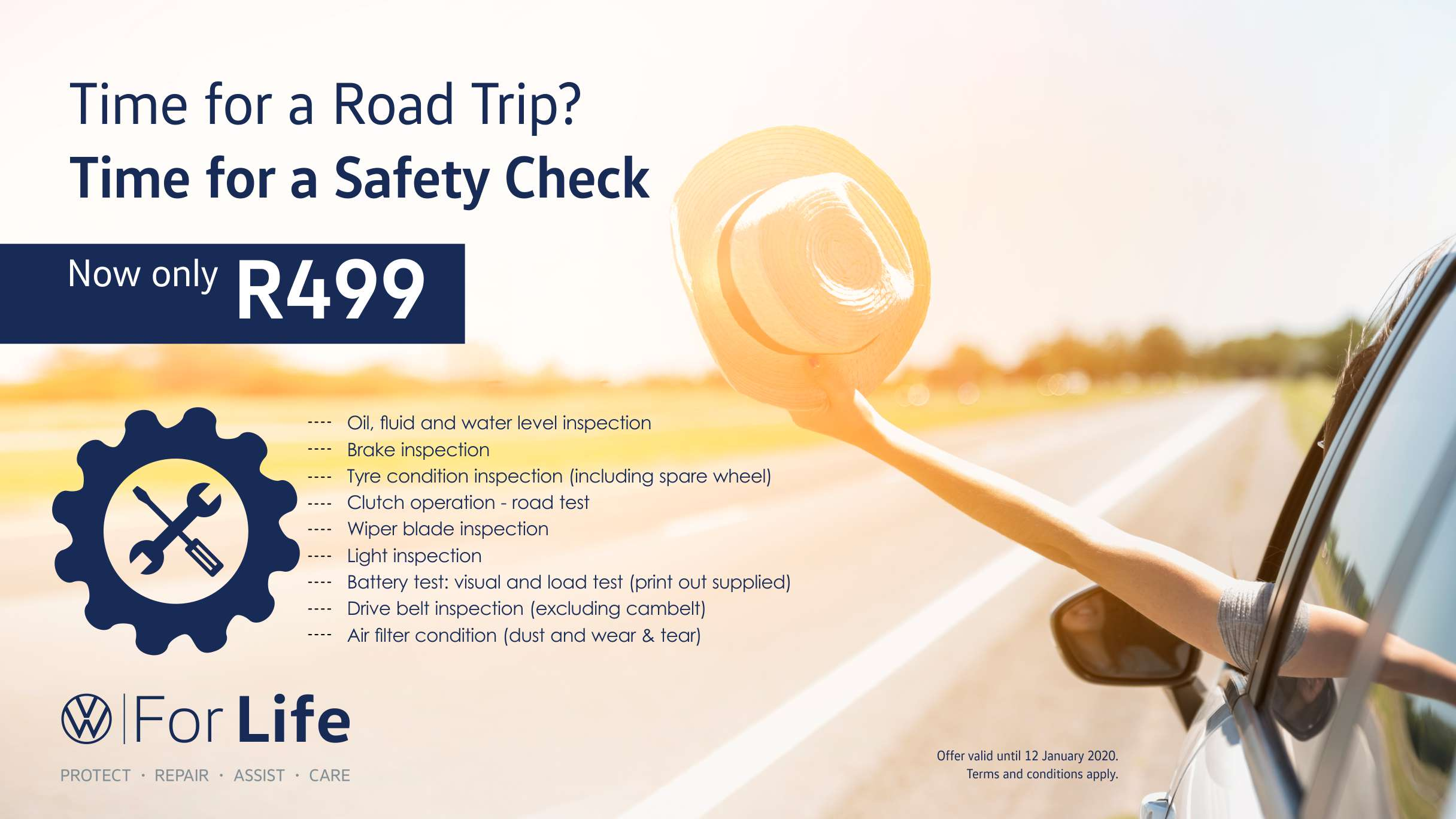 Barons Tokai Holiday safety check service offer
